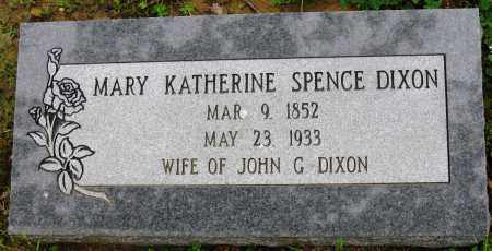 DIXON, MARY KATHERINE - Conway County, Arkansas | MARY KATHERINE DIXON - Arkansas Gravestone Photos