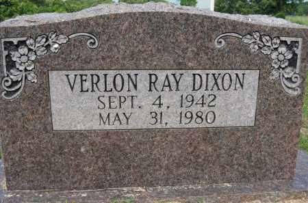 DIXON, VERLON RAY - Conway County, Arkansas | VERLON RAY DIXON - Arkansas Gravestone Photos