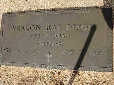 DIXON (VETERAN VIET), VERLON RAY - Conway County, Arkansas | VERLON RAY DIXON (VETERAN VIET) - Arkansas Gravestone Photos