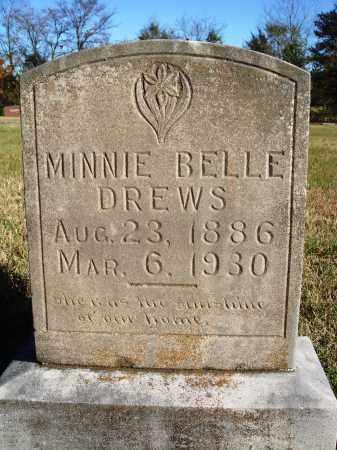 DREWS, MINNIE BELLE - Conway County, Arkansas | MINNIE BELLE DREWS - Arkansas Gravestone Photos