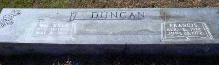 DUNCAN, WILLIAM KYLE - Conway County, Arkansas | WILLIAM KYLE DUNCAN - Arkansas Gravestone Photos
