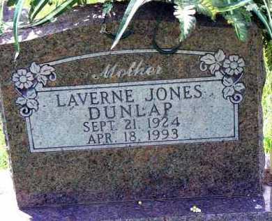 JONES DUNLAP, BEATRICE LAVERNE - Conway County, Arkansas | BEATRICE LAVERNE JONES DUNLAP - Arkansas Gravestone Photos