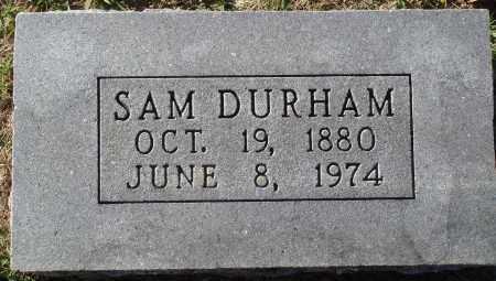 DURHAM, SAM - Conway County, Arkansas | SAM DURHAM - Arkansas Gravestone Photos