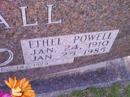 POWELL DUVALL, ETHEL - Conway County, Arkansas   ETHEL POWELL DUVALL - Arkansas Gravestone Photos