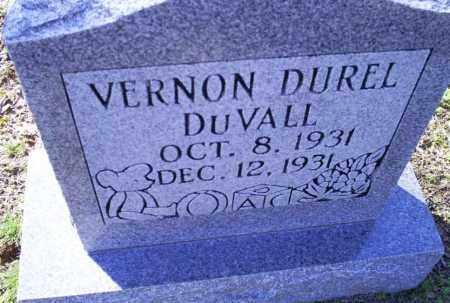 DUVALL, VERNON DUREL - Conway County, Arkansas   VERNON DUREL DUVALL - Arkansas Gravestone Photos