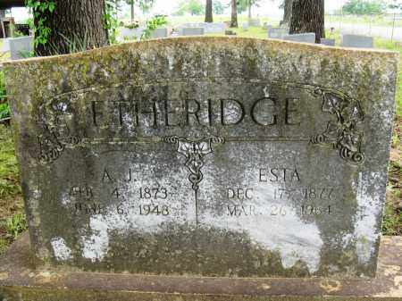 ETHERIDGE, ESTA - Conway County, Arkansas | ESTA ETHERIDGE - Arkansas Gravestone Photos