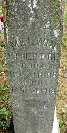 ETHERIDGE, MELWIN - Conway County, Arkansas | MELWIN ETHERIDGE - Arkansas Gravestone Photos