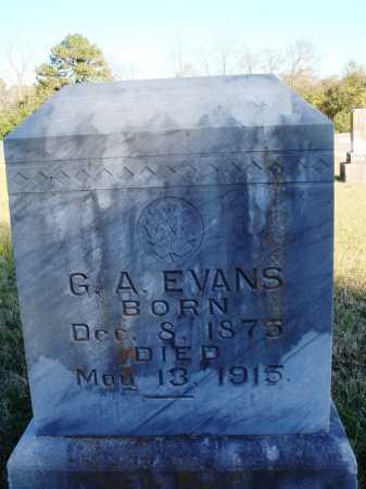 EVANS, G. A. - Conway County, Arkansas | G. A. EVANS - Arkansas Gravestone Photos