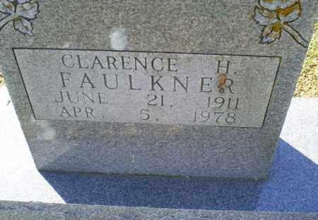 FAULKNER, CLARENCE H. - Conway County, Arkansas | CLARENCE H. FAULKNER - Arkansas Gravestone Photos