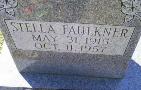 FAULKNER, STELLA - Conway County, Arkansas | STELLA FAULKNER - Arkansas Gravestone Photos
