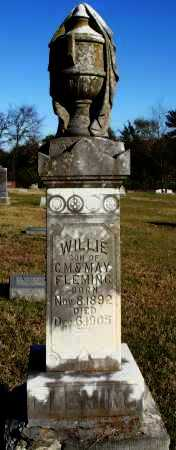 FLEMING, WILLIE - Conway County, Arkansas | WILLIE FLEMING - Arkansas Gravestone Photos