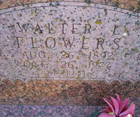 FLOWERS, WALTER L. - Conway County, Arkansas | WALTER L. FLOWERS - Arkansas Gravestone Photos
