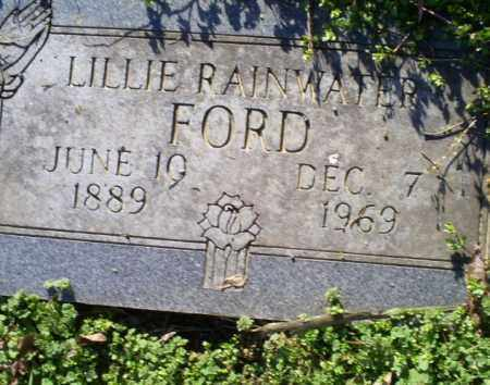 RAINWATER FORD, LILLIE - Conway County, Arkansas | LILLIE RAINWATER FORD - Arkansas Gravestone Photos