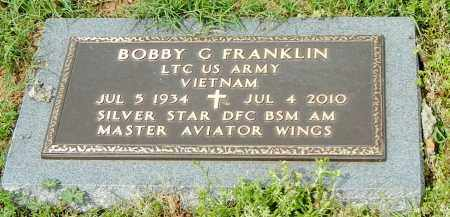 FRANKLIN (VETERAN VIET), BOBBY G - Conway County, Arkansas | BOBBY G FRANKLIN (VETERAN VIET) - Arkansas Gravestone Photos