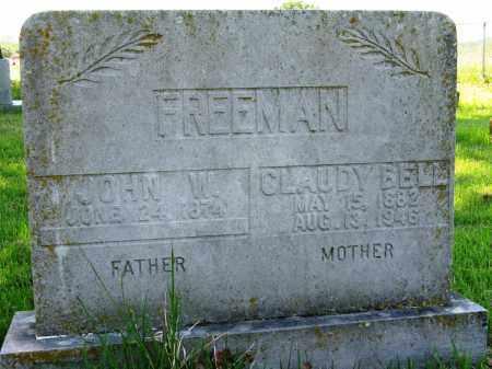 FREEMAN, CLAUDY BELL - Conway County, Arkansas | CLAUDY BELL FREEMAN - Arkansas Gravestone Photos