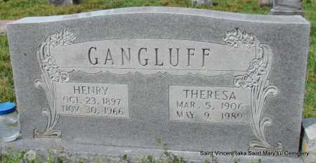 GANGLUFF, HENRY - Conway County, Arkansas | HENRY GANGLUFF - Arkansas Gravestone Photos