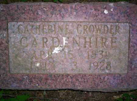 GARDENHIRE, CATHERINE - Conway County, Arkansas | CATHERINE GARDENHIRE - Arkansas Gravestone Photos