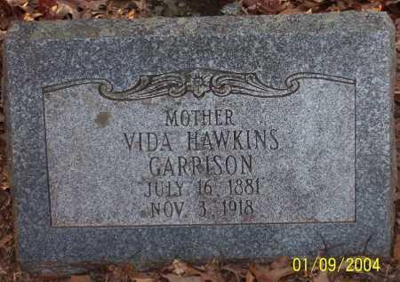 HAWKINS GARRISON, VIDA - Conway County, Arkansas | VIDA HAWKINS GARRISON - Arkansas Gravestone Photos
