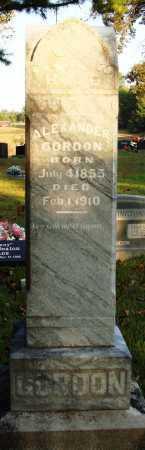 GORDON, ALEXANDER BRUCE - Conway County, Arkansas | ALEXANDER BRUCE GORDON - Arkansas Gravestone Photos