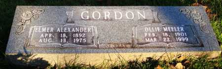 GORDON, ELMER ALEXANDER - Conway County, Arkansas | ELMER ALEXANDER GORDON - Arkansas Gravestone Photos