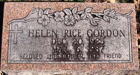 GORDON, HELEN - Conway County, Arkansas | HELEN GORDON - Arkansas Gravestone Photos