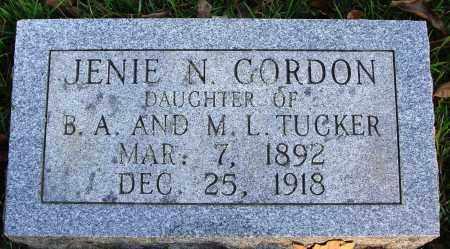 GORDON, JANIE N. - Conway County, Arkansas | JANIE N. GORDON - Arkansas Gravestone Photos