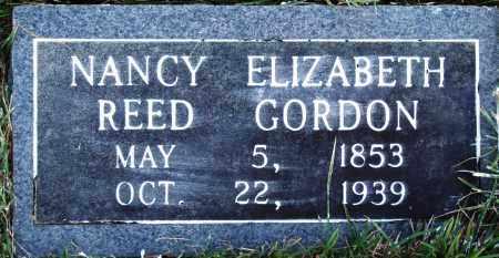 REED GORDON, NANCY ELIZABETH - Conway County, Arkansas | NANCY ELIZABETH REED GORDON - Arkansas Gravestone Photos