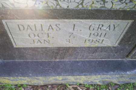 GRAY, DALLAS L. - Conway County, Arkansas | DALLAS L. GRAY - Arkansas Gravestone Photos
