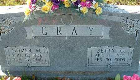 GRAY, BETTY G. - Conway County, Arkansas | BETTY G. GRAY - Arkansas Gravestone Photos