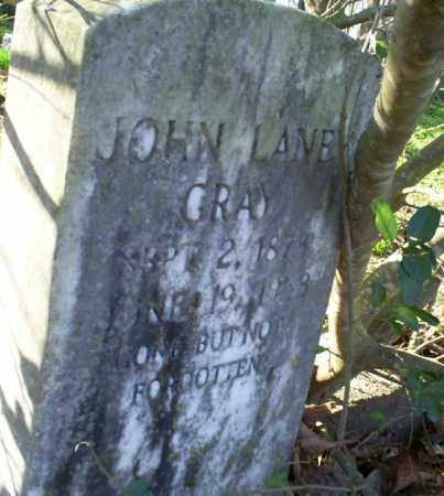 GRAY, JOHN LANE - Conway County, Arkansas | JOHN LANE GRAY - Arkansas Gravestone Photos
