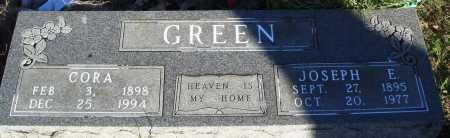 GREEN, CORA - Conway County, Arkansas | CORA GREEN - Arkansas Gravestone Photos