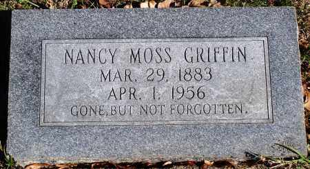 MOSS GRIFFIN, NANCY - Conway County, Arkansas | NANCY MOSS GRIFFIN - Arkansas Gravestone Photos