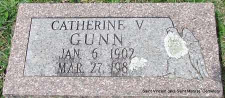 GUNN, CATHERINE V - Conway County, Arkansas | CATHERINE V GUNN - Arkansas Gravestone Photos