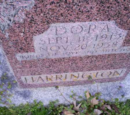 HARRINGTON, DORA - Conway County, Arkansas | DORA HARRINGTON - Arkansas Gravestone Photos