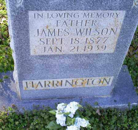 HARRINGTON, JAMES WILSON - Conway County, Arkansas | JAMES WILSON HARRINGTON - Arkansas Gravestone Photos