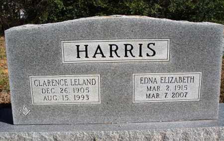 HARRIS, EDNA ELIZABETH - Conway County, Arkansas | EDNA ELIZABETH HARRIS - Arkansas Gravestone Photos