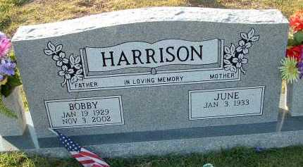 HARRISON, BOBBY - Conway County, Arkansas | BOBBY HARRISON - Arkansas Gravestone Photos