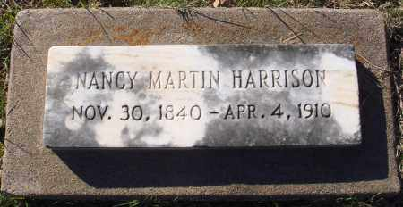 MARTIN HARRISON, NANCY - Conway County, Arkansas | NANCY MARTIN HARRISON - Arkansas Gravestone Photos