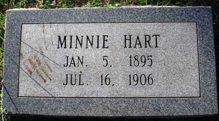 HART, MINNIE - Conway County, Arkansas | MINNIE HART - Arkansas Gravestone Photos