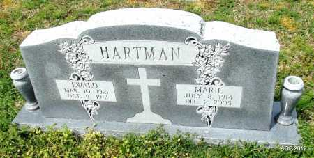 HARTMAN, MARIE - Conway County, Arkansas | MARIE HARTMAN - Arkansas Gravestone Photos