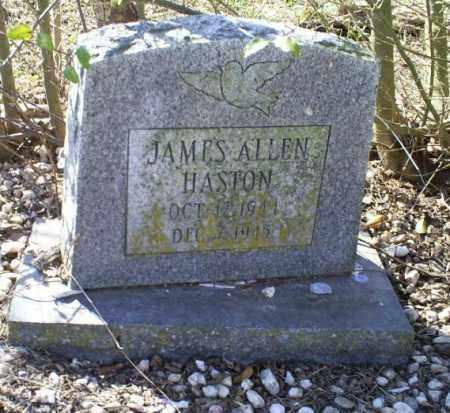 HASTON, JAMES ALLEN - Conway County, Arkansas | JAMES ALLEN HASTON - Arkansas Gravestone Photos