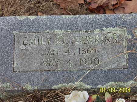STELL HAWKINS, EMILY ORANGE - Conway County, Arkansas | EMILY ORANGE STELL HAWKINS - Arkansas Gravestone Photos