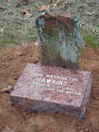 HAWKINS, JOHN WASHINGTON - Conway County, Arkansas | JOHN WASHINGTON HAWKINS - Arkansas Gravestone Photos