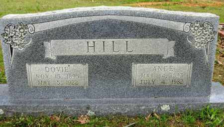 HILL, DOVIE - Conway County, Arkansas | DOVIE HILL - Arkansas Gravestone Photos