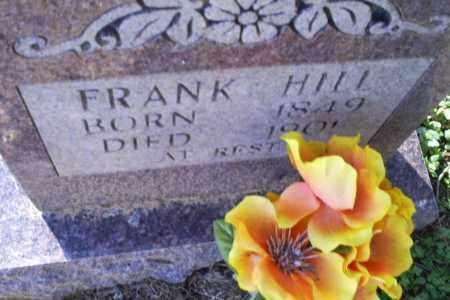 HILL, FRANK - Conway County, Arkansas | FRANK HILL - Arkansas Gravestone Photos