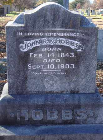 HOBBS, JOHN R. K. - Conway County, Arkansas   JOHN R. K. HOBBS - Arkansas Gravestone Photos