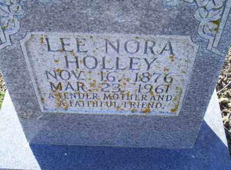 HOLLEY, LEE NORA - Conway County, Arkansas | LEE NORA HOLLEY - Arkansas Gravestone Photos