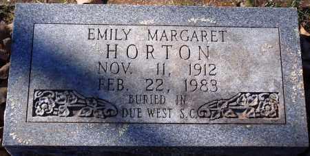 HORTON, EMILY MARGARET - Conway County, Arkansas | EMILY MARGARET HORTON - Arkansas Gravestone Photos