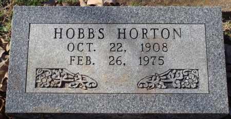 HORTON, HOBBS - Conway County, Arkansas   HOBBS HORTON - Arkansas Gravestone Photos