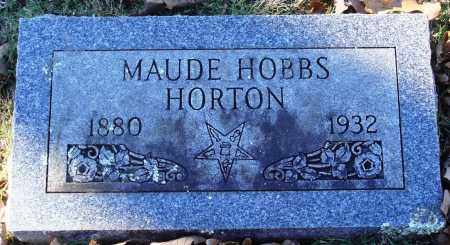 HORTON, MAUDE - Conway County, Arkansas | MAUDE HORTON - Arkansas Gravestone Photos